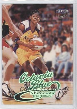 1999 Fleer Ultra WNBA #16 - Octavia Blue
