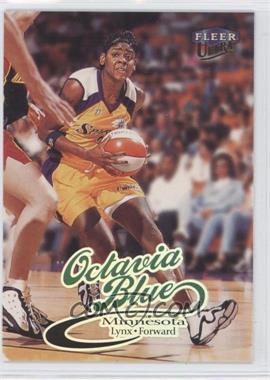 1999 Fleer Ultra WNBA #16 - Octavia Blue