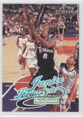 1999 Fleer Ultra WNBA #43 - Janice Braxton