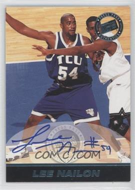 1999 Press Pass SE Autographs Blue #LENA - Lee Nailon /500