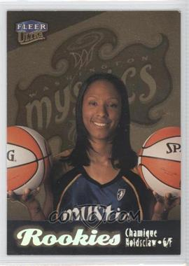1999 Ultra WNBA Gold Medallion Edition #102G - Chamique Holdsclaw