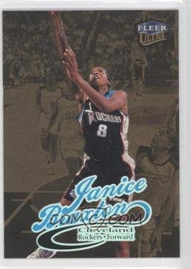 1999 Ultra WNBA Gold Medallion Edition #43G - Janice Braxton
