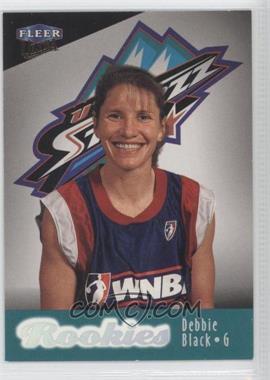 1999 Ultra WNBA #111 - Debbie Black