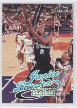 1999 Ultra WNBA #43 - Janice Braxton