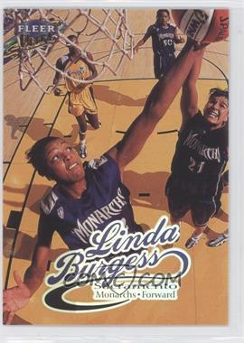 1999 Ultra WNBA #72 - Linda Burgess