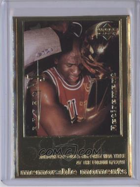 1999 Upper Deck Authenticated - Michael Jordan 22 kt. Gold Photo Cards #N/A - Michael Jordan /9923