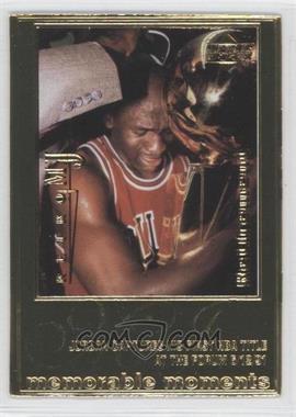 1999 Upper Deck Authenticated Michael Jordan 22 kt. Gold Photo Cards #N/A - Michael Jordan /9923