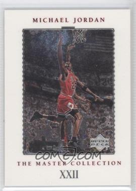 1999 Upper Deck Chicago Bulls The Master Collection [???] #12 - Michael Jordan