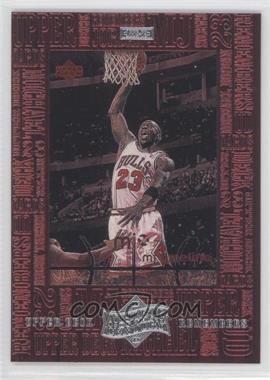 1999 Upper Deck Michael Jordan Athlete of the Century - Upper Deck Remembers #UD7 - Michael Jordan