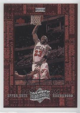 1999 Upper Deck Michael Jordan Athlete of the Century Upper Deck Remembers #UD7 - Michael Jordan