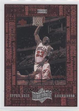 1999 Upper Deck Michael Jordan Athlete of the Century Upper Deck Remembers #UD7 - Michael Jordan