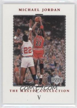 1999 Upper Deck Michael Jordan The Master Collection #5 - Michael Jordan