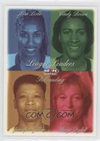 Lisa Leslie, Cindy Brown, Jennifer Gillom, Margo Dydek