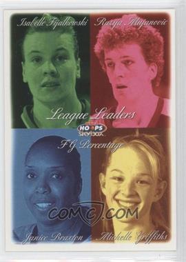 1999 WNBA Hoops Skybox - [Base] #9 - Isabelle Fijalkowski, Janice Braxton, Razija Mujanovic, Michelle Griffiths