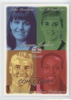 Ticha Penicheiro, Teresa Weatherspoon, Michele Timms, Suzie McConnell Serio