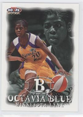 1999 WNBA Hoops Skybox #18 - Octavia Blue