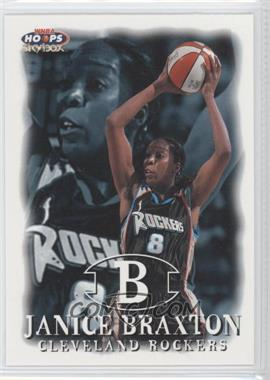 1999 WNBA Hoops Skybox #73 - Janice Braxton