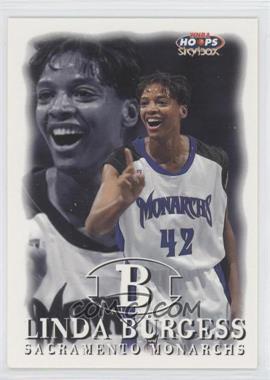 1999 WNBA Hoops Skybox #84 - Linda Burgess
