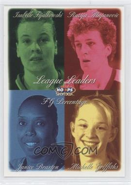 1999 WNBA Hoops Skybox #9 - Isabelle Fijalkowski, Janice Braxton