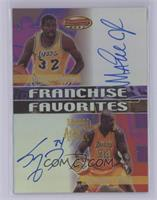 Shaquille O'Neal, Magic Johnson [Near Mint‑Mint]