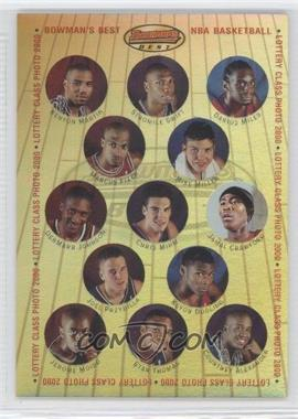 2000-01 Bowman's Best Lottery Class Photo 2000 #LCP1 - Kenyon Martin, Stromile Swift, Darius Miles, Marcus Fizer, Mike Miller, DerMarr Johnson, Jamal Crawford, Joel Przybilla, Keyon Dooling /499