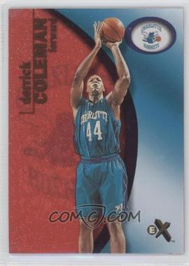 2000-01 EX Essential Credentials Now #9 - Derrick Coleman /201 - Courtesy of COMC.com