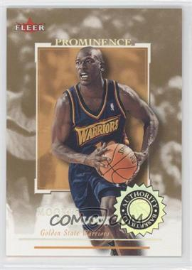 2000-01 Fleer Authority Prominence 125/75 #27 - Mookie Blaylock /125