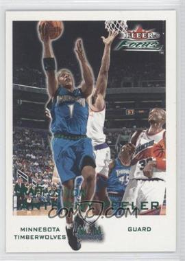 2000-01 Fleer Focus Draft Position #66 - Anthony Peeler /100