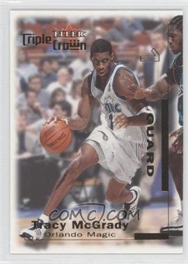 2000-01 Fleer Triple Crown - [Base] #159 - Tracy McGrady