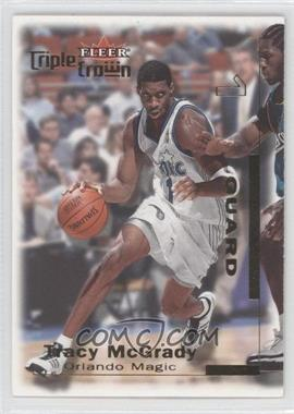 2000-01 Fleer Triple Crown #159 - Tracy McGrady