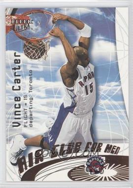 2000-01 Fleer Ultra Air Club For Men #3 AC - Vince Carter