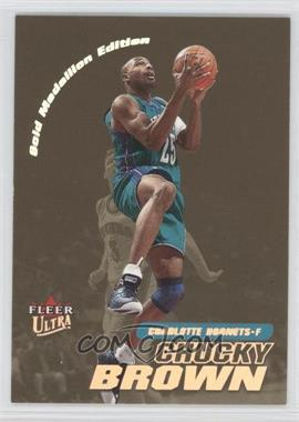 2000-01 Fleer Ultra Gold Medallion #167G - Chucky Brown