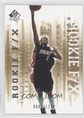 2000-01 SP Authentic #120 - Eddie House /1250
