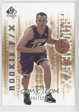 2000-01 SP Authentic #132 - Mike Penberthy /1250