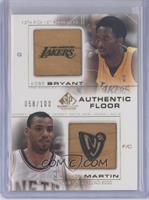 Kobe Bryant, Kenyon Martin /100