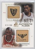 Kenyon Martin, DerMarr Johnson /100