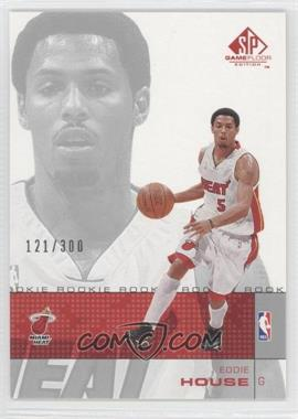 2000-01 SP Game Floor Edition #89 - Eddie House /300