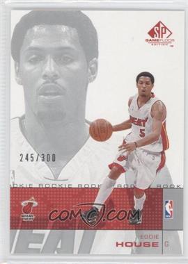 2000-01 SP Game Floor Edition #89 - Eddie House /300
