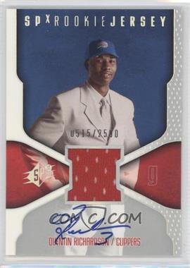 2000-01 SPx - [Base] #122 - Quentin Richardson /2500