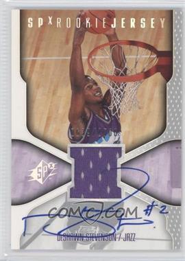 2000-01 SPx #116 - DeShawn Stevenson /2500