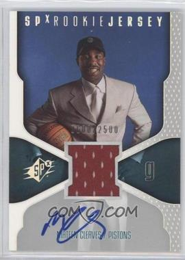 2000-01 SPx #118 - Mateen Cleaves /2500