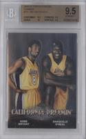 Kobe Bryant, Shaquille O'Neal [BGS9.5]