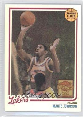 2000-01 Topps Chrome Magic Johnson Commemorative Series Reprints Refractor #1 - Magic Johnson