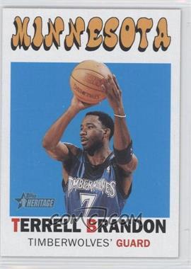 2000-01 Topps Heritage #103 - Terrell Brandon