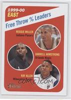Reggie Miller, Darrell Armstrong, Ray Allen