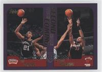 Tim Duncan, Alonzo Mourning