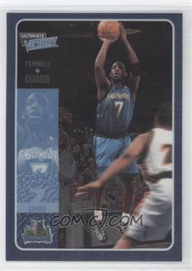 2000-01 Ultimate Victory - [Base] #34 - Terrell Brandon