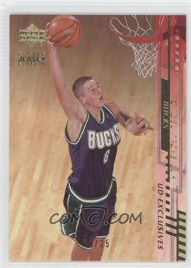 2000-01 Upper Deck Gold UD Exclusives #318 - Joel Przybilla /25