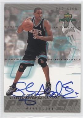 2000-01 Upper Deck MVP Pro Sign [Autographed] #SA - Shareef Abdur-Rahim