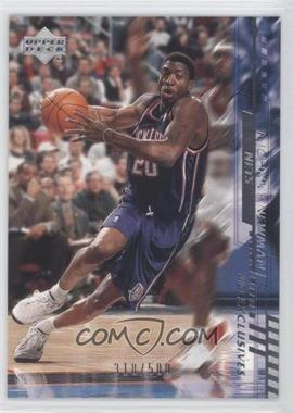 2000-01 Upper Deck Silver UD Exclusives #109 - Johnny Newman /500